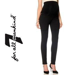 1004 7 For All Mankind Skinny MaternityPantsSize26